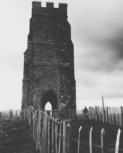 Glastonbury Tor Naturally History Through The Lens  Black And White Photography Glastonbury Tor Black And White Old Buildings Old But Awesome
