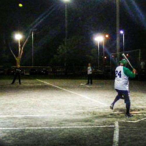 Slowpitchsoftball Coedsoftball Baseball Recleague watsonville hitting batting hittingpost california 831