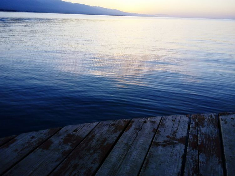 Sunrise Lake Mountains Tyanshan Issykkul