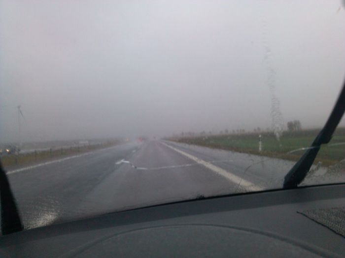 On The Road Narke Rain rain