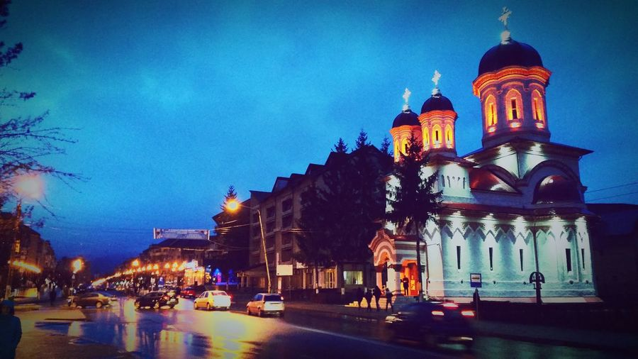 Church Biserica Petrosani Night Nightphotography Nightlife Night View Night Walking