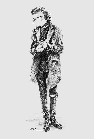Gangsters Paradise Drawing Draw Pencil Drawing Blackandwhite The 1975  Matty Healy Not My Draw Apreciate Art Unknow Artis