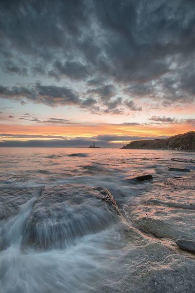 St Marys Lighthouse Sunrise_sunsets_aroundworld Sunrise Sky Cloud - Sky Scenics - Nature Sunset Beauty In Nature Water Sea Environment Nature Landscape Land Beach Tranquility Motion Dramatic Sky Idyllic No People Outdoors