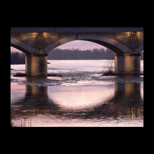 La Loire à Amboise - France - EyeEm Nature Lover Loire Touraine EyeEm Best Shots Pont Bridge River Mauve