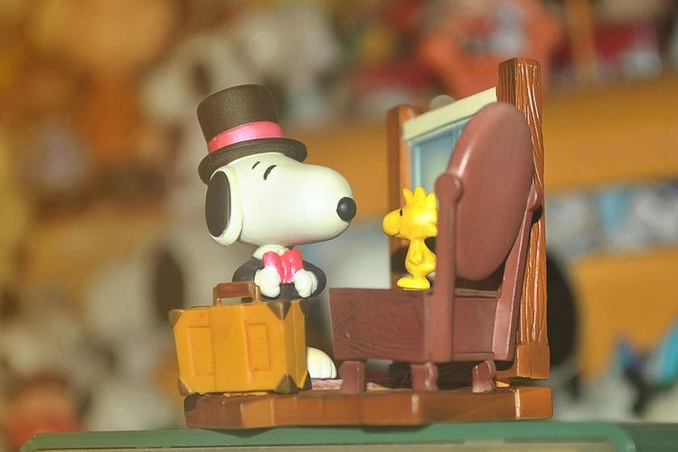Snoopy plastic