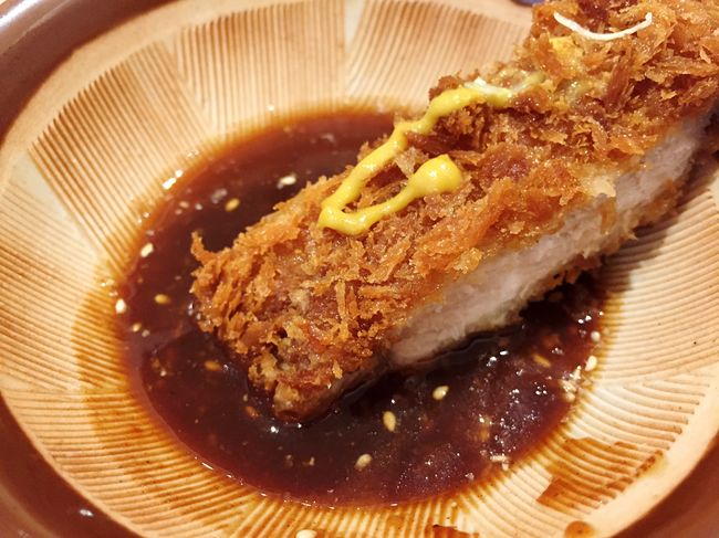 Food Porn Awards Tonkatsu Japanese Food Shot On IPhone