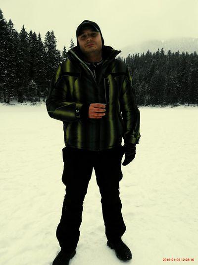 На льду Синивира.