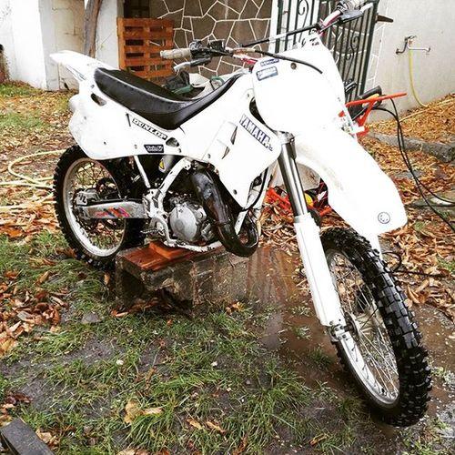 Yz Yamaha 125  Yamahayz Motorcycles Motorbike Yz125 White 1993
