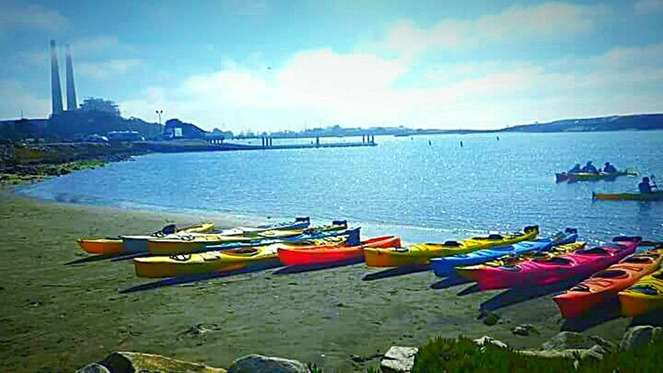 Pacific Ocean Water Ocean Photography Coastal Life This Week On Eyeem Nature Photography Taking Photos My Photography My Point Of View Sight Seeing Sand Kayaking Is Fun Kayaking In Nature Kayak Storage Pier Landscape #Nature #photography