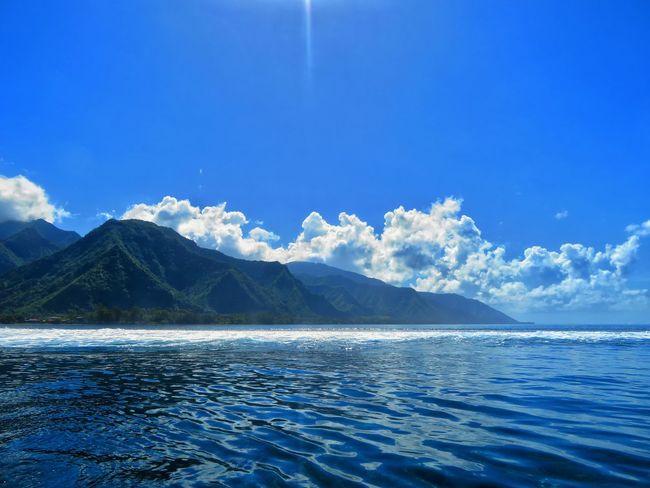 French Polynesia South Pacific Tahiti ❤ Beauty In Nature Nature No People Outdoors Scenics - Nature Sky Tahiti Teahupoo Water Summer Exploratorium
