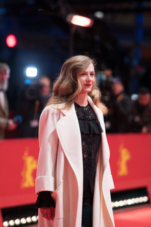 Berlin, Germany - February 24, 2018: Belgian actress Cecile de France attends the closing ceremony during the 68th Berlinale International Film Festival Berlin at Berlinale Palast AWARD Closing Ceremony Film Festival Portrait Of A Woman Woman Actress Arts Culture And Entertainment Beautiful Woman Belgian  Berlinale Berlinale 2018 Berlinale Festival Berlinale2018 Blond Hair Cecile De France Entertainment Entertainment Event Mass Media One Person People Portrait Posing Posing For The Camera Red Carpet Red Carpet Event