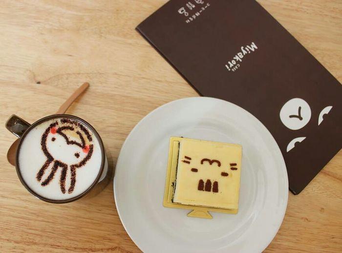 Bunny  Oreo Cheesecake Coffe