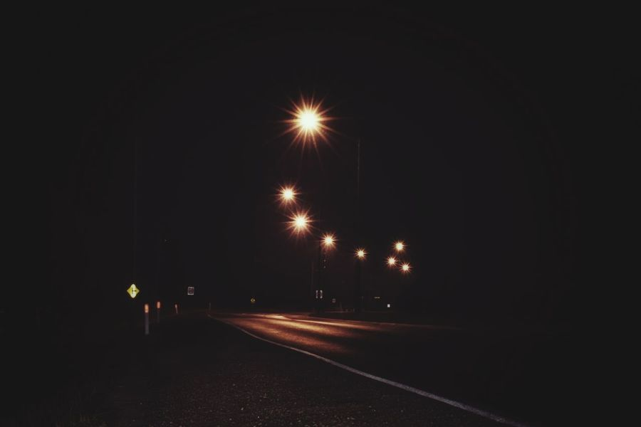 Practicing some long exposure shots. Photography Nightphotography Longexposure Outdoors Street Light Night Illuminated No People Australia
