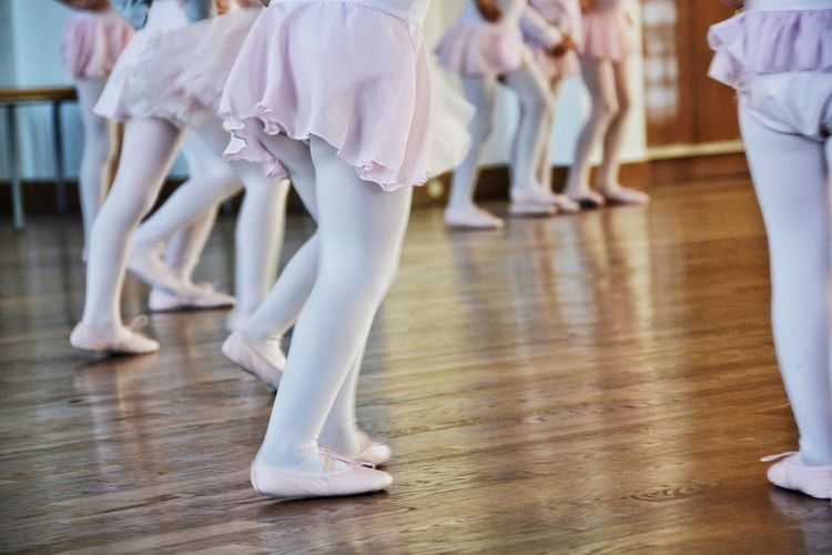 One, two, three, four, one, two, three, four..... Ballerine Ballet Ballet Shoes Fashion Front View Girls Human Leg Indoors  Lifestyles Low Section Occupation Pink Pink Shoes Real People Shoes Standing Pastel Power Photography In Motion Up Close Street Photography The Color Of School