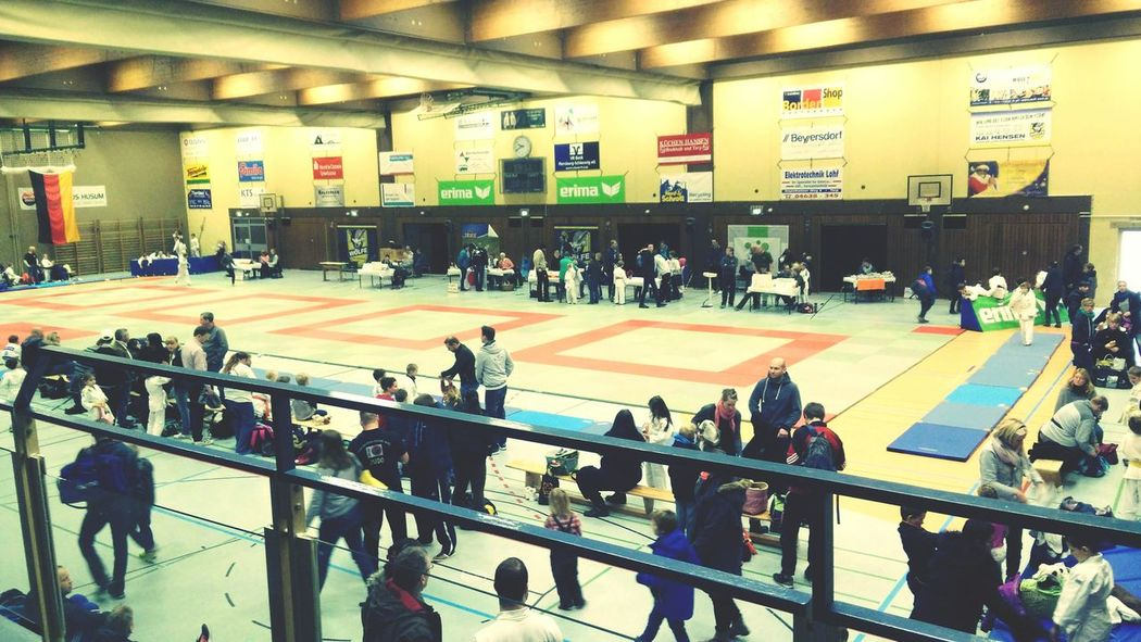 Sport Indoors  Competition People Competitive Sport Match - Sport Athlete Day Judo Turnier Local