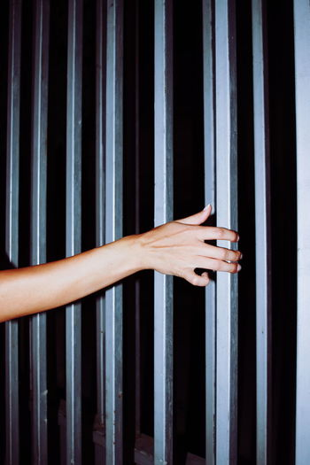 Human Body Part Human Hand Close-up Prison Security Bar Prisoner Indoors  Day Confined Space People Only Men The Week On EyeEm Women Second Acts AI Now This Is Natural Beauty A New Perspective On Life