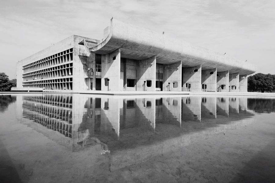 Chandigarh Architecture The Architect - 2016 EyeEm Awards Reflection Reflections In The Water Architecturelovers EyeEm Best Shots The Week Of Eyeem EyeEmBestPics EyeEm Eyeem Market Architecture_collection Architectureporn EyeEm Best Shots - Black + White Architecturephotography EyeEm Bnw Blackandwhite Abstractarchitecture Perspective Lines Upside Down Symmetry Check This Out Market Reviewers' Top Picks