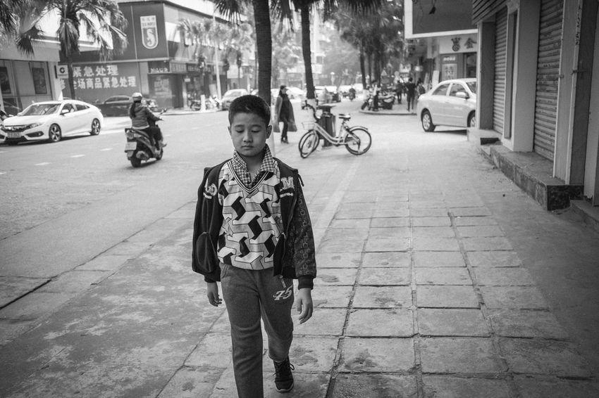 EyeEm EyeEm Best Shots EyeEm Selects EyeEm Gallery EyeEmBestPics From My Point Of View The Week On EyeEm X-PRO2 Black And White Blackandwhite Casual Clothing Childhood Contrast Enjoying Life Front View Fujifilm Fujifilm_xseries Lifestyles Monochrome Street Street Photography Streetphotography