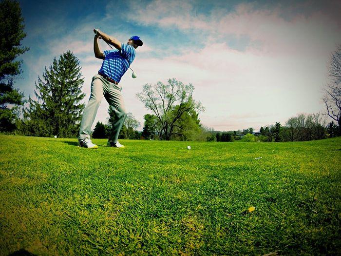VA golfing