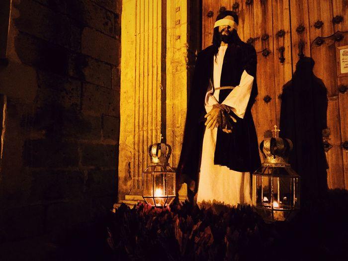 Jesus Christ Statue Outside Church