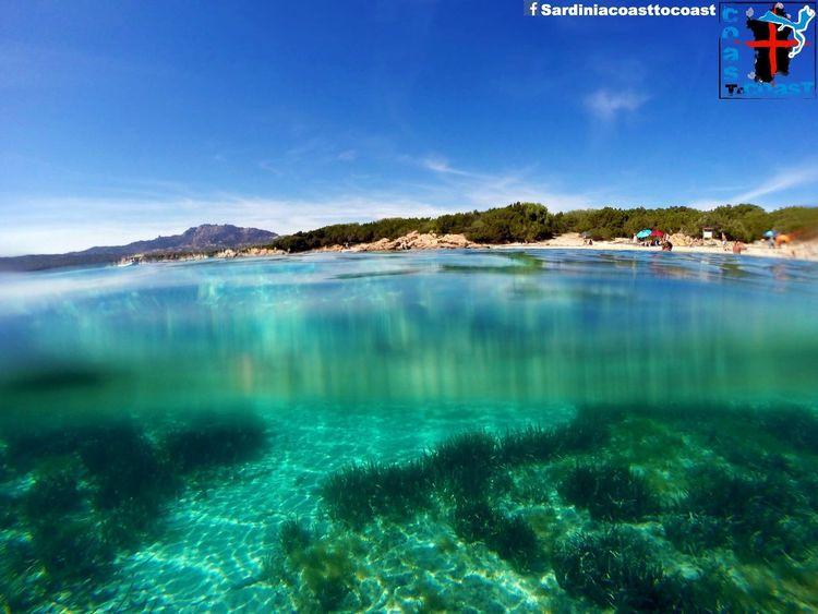 Gopro Having Fun Amazing View Amazing Sea Water Sardinia Enjoying Life Sardiniacoasttocoast Colorful