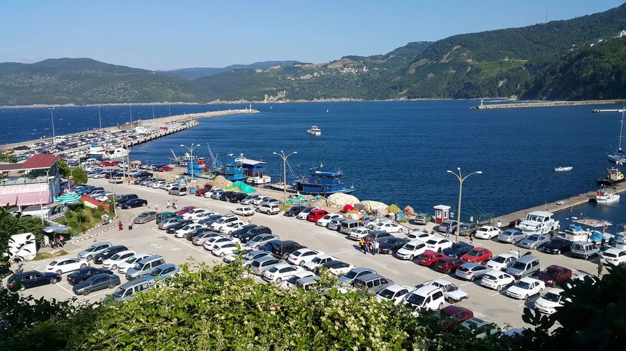 car park Car Park Amasra Water Sea Mountain Beach Tree Clear Sky High Angle View Sky Moored Settlement Nautical Vessel Marina Longtail Boat Water Vehicle Port Outrigger Residential Structure Dock Fishing Boat Coastline Office Building Boat Harbor Mast Sailboat Calm Archipelago Sailing Boat