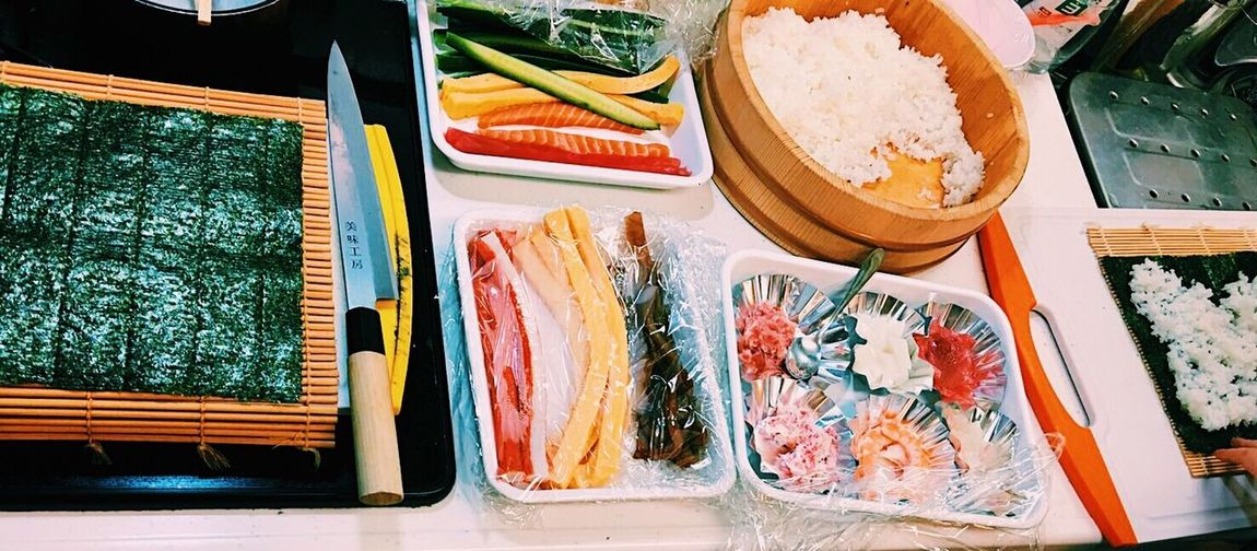 Japan Japanese Food Japanese Culture Sushi 節分 巻き寿司 恵方巻 Cooking