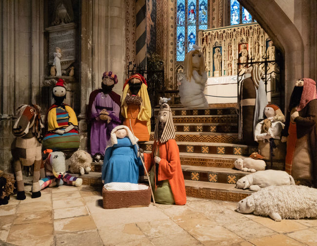 Human Representation Art And Craft Spirituality Religion Representation Place Of Worship Architecture Nativity Gloucester Cathedral