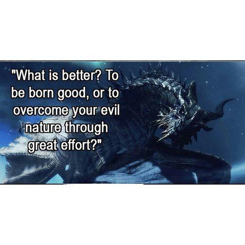 Quote of the day? Elderscrolls Quote Dragon Skyrim Ohtrue