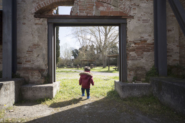 Children Photography Innocence Childhood Child Children Children Only Door Abandoned Abandoned Places Abandoned Buildings Kid Primary Age Child Preschooler