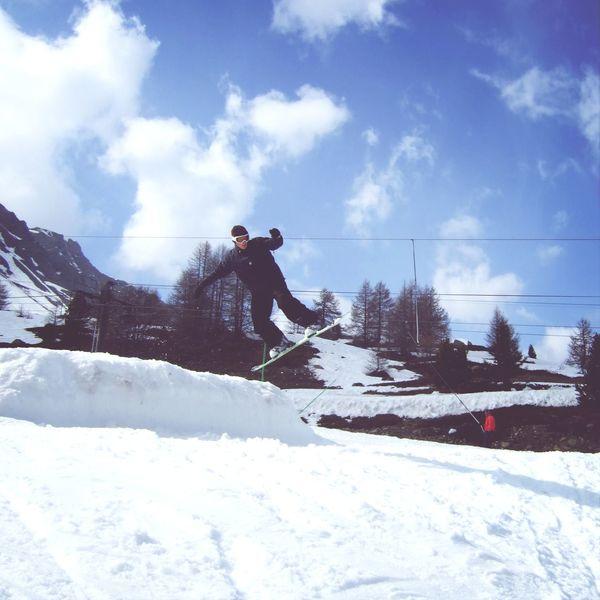 Snowboarding France, Vars :D Snowboard Happy France Vars First Eyeem Photo
