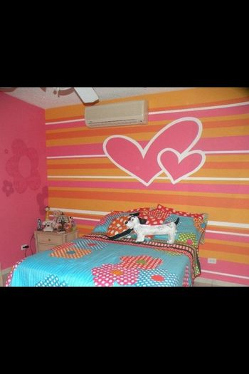 my 4 daughter room done by mamy liz