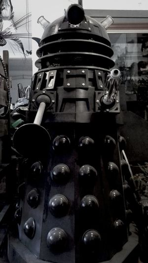 exterminate!!! doctor who dalek in our workshop:) Tornhemstudio Check This Out Doctorwho Dalek