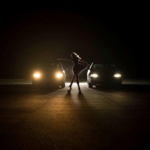 Midnight madness   Shot by @eyesofpatrick / edit by me Silhouette Spotlight Nightphotography Cars Silhouettes Night Photography Light And Shadow Light North Carolina Darkness And Light