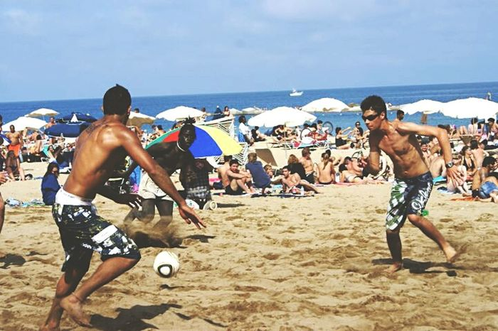 Play Time Live Is A Beach Beach Football The Human Condition Playing Games Barcelona Succer People SPAIN