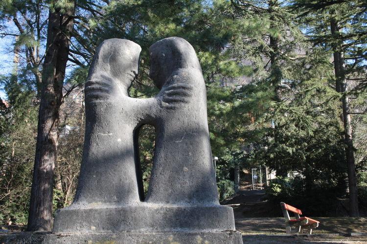 lugano, switzerland parco San MIchele TICINO ♡ switzerland park Statue (Anna Baumann-Kienast 1880-19 Lugano, Switzerland Parco San MIchele TICINO ♡ Switzerland Park Statue Canon Eos 1000d Two Is Better Than One