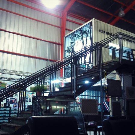 In the Hangar Warehouse