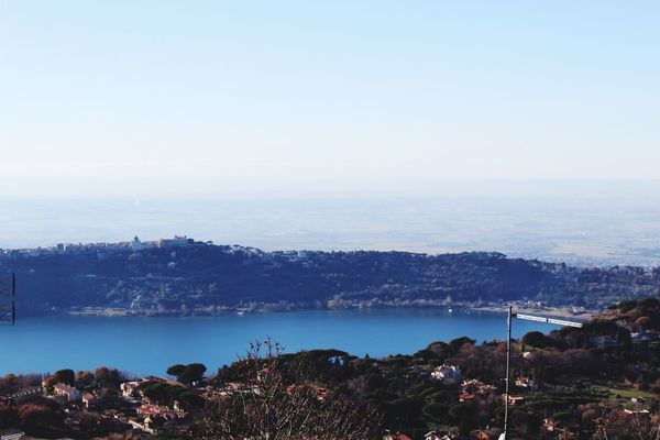 lake Albano EyeEm Best Shots EyeEmNewHere EyeEm Nature Lover Eye4photography  EyeEm Gallery Canon Canon EOS 1300D Italy Water Sea Tranquility Sky Outdoors Blue Landscape Horizon Over Water No People Scenics Day Vacations Clear Sky Nature Beauty In Nature