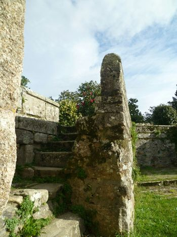 Day Outdoors Built Structure No People Building Exterior Sky Old Ruin Historical Place Historic Site Castro Celtic Heritage Stone Material Stone Wall Stone Stairs Stone Steps EyeEmNewHere