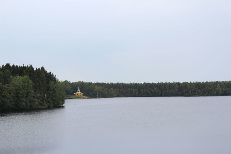 Karelia No People Orthodox Church Relaxation Religion Russia