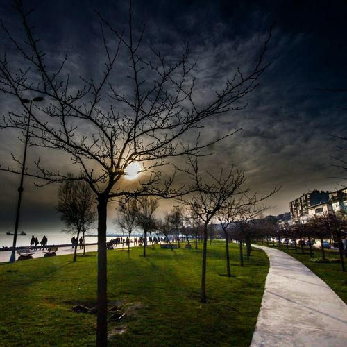 Sun Trees Clouds Istanbuldayasam Istanbullovers Istanbul City
