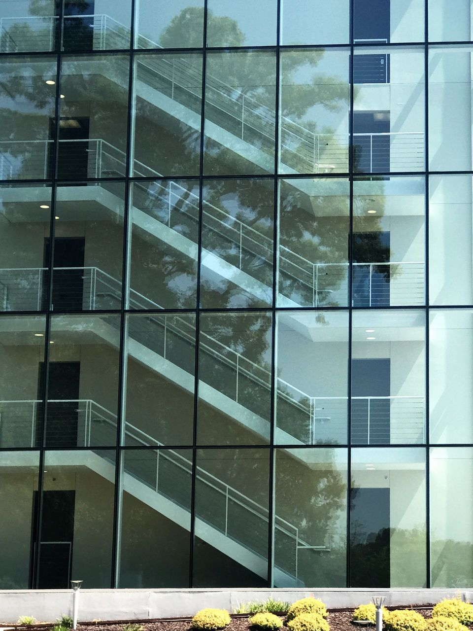 architecture, building exterior, window, built structure, building, reflection, modern, full frame, no people, outdoors, day, city
