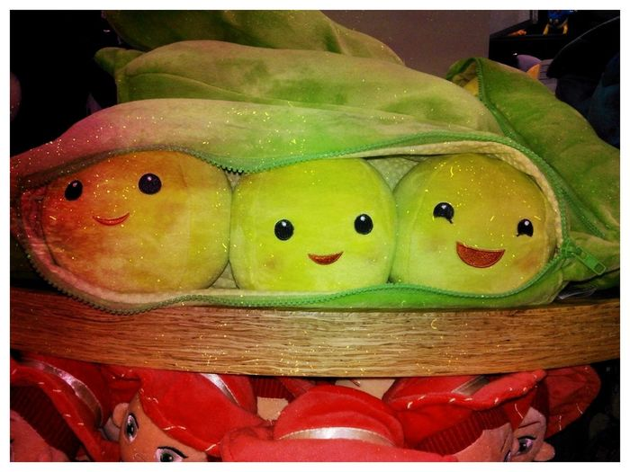 Three Peas In A Pod. Its Adorable!