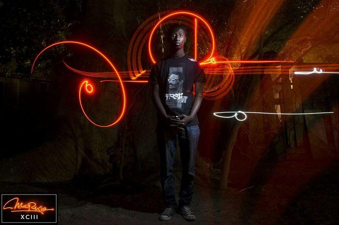 Marko93 Light Lightpainting Light Trails Calligraphy Glowinthedark Graffiti Streetart Light Up Your Life Africa
