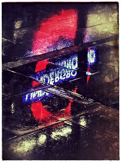 Telling Stories Differently Reflecting on a rainy evening in London London Undergroung Tube London Kings Cross Station Rainy Street Rain Light Reflected In Water BYOPaper! EyeEm LOST IN London Postcode Postcards