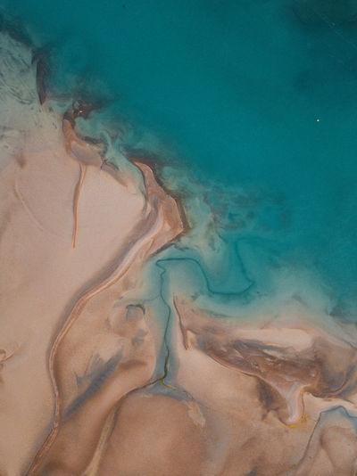 Full frame shot of sea shore