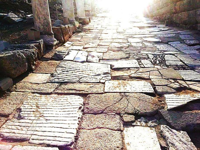 Rocky road.