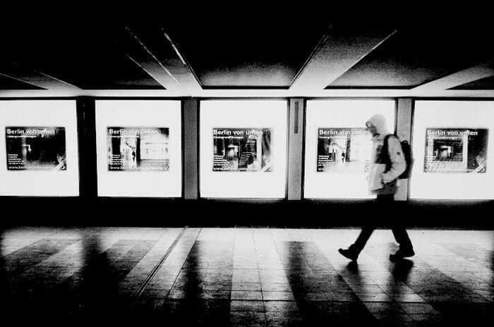 Berlin from below Streetphoto_bw Eye4black&white  Blackandwhite Commuting