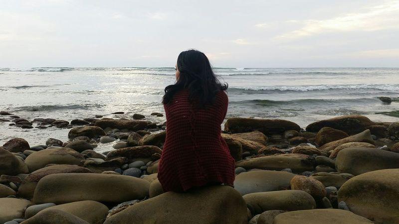 Ocean view. Phone Camera San Diego Living Southern California Lighting Beach Scene  Wow, We Live Close To A Beach