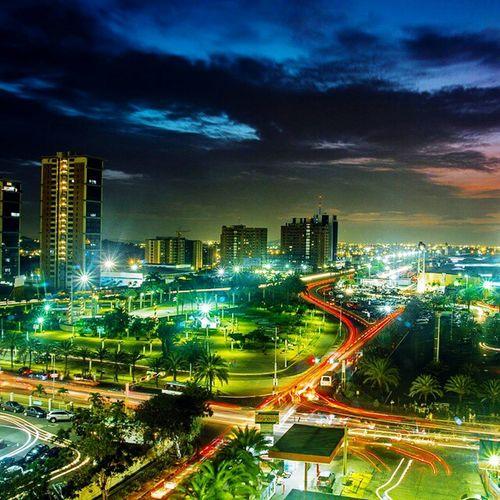 lo bello que es puerto ordaz. 💝🌙 City Poz Puertoordaz Night Nightphotography Nightpanorama Venezuela Beautiful